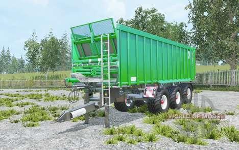 Kroger Agroliner TAW 30 accept manure pour Farming Simulator 2015