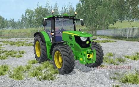 John Deere 6150R north texas green pour Farming Simulator 2015