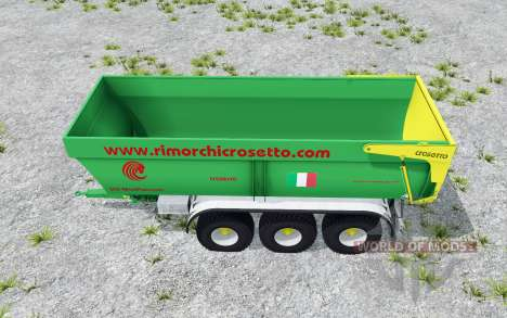 Crosetto CMR180 pigment green pour Farming Simulator 2015