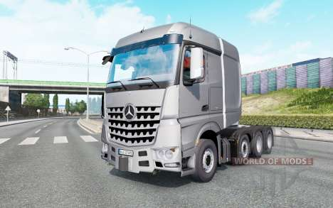 Mercedes-Benz Arocs SLT v1.5.5.1 pour Euro Truck Simulator 2