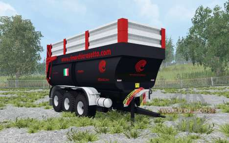 Crosetto CMR180 dynamic leaf springs pour Farming Simulator 2015