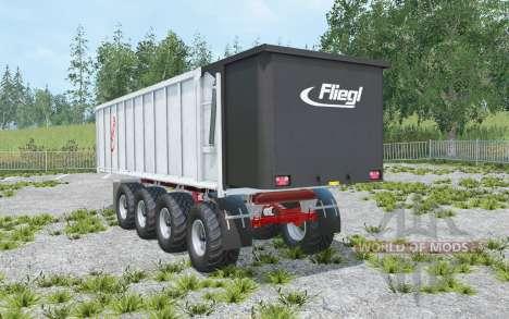 Fliegl Gigant ASW 4-axles pour Farming Simulator 2015