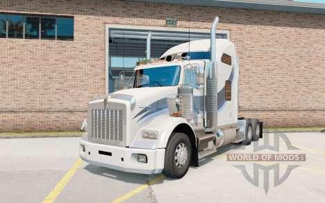 Kenworth Т800 AeroCab Sleeper pour American Truck Simulator