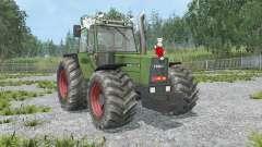 Fendt Favorit 611 LSA Turbomatik E black smoke pour Farming Simulator 2015