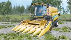 New Holland TC5.90 increased unloading rate für Farming Simulator 2015