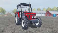 Zetor 7340 tractor red für Farming Simulator 2013