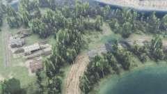 Wald, See für Spin Tires