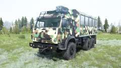 KamAZ-5350 Mustang en tenue de camouflage pour MudRunner
