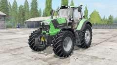Deutz-Fahr 6 TTV Agrotron power selection pour Farming Simulator 2017