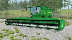 John Deere S690i realistic sound engine für Farming Simulator 2015