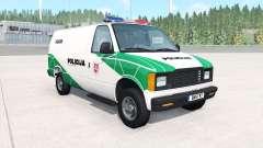Gavril H-Series Lithuanian Police v1.2 pour BeamNG Drive