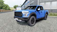 Ford F-150 Raptor 2017 pour Euro Truck Simulator 2