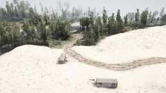 À travers le désert à la montagne pour MudRunner