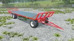 Fliegl DPW 180 longer drawbar für Farming Simulator 2015