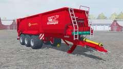 Krampe Bandit 980 fertilizer pour Farming Simulator 2013