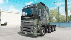 Volvo FH16 Globetrotter pour American Truck Simulator