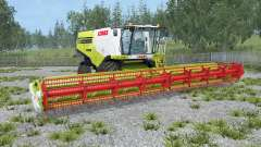Claas Lexion 770 animated rear axle für Farming Simulator 2015