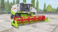 Claas Lexion 530 vivid lime green pour Farming Simulator 2017