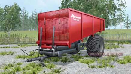 Kverneland Taarup Shuttle coral red für Farming Simulator 2015