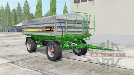 Metaltech DB 8 bombay pour Farming Simulator 2017