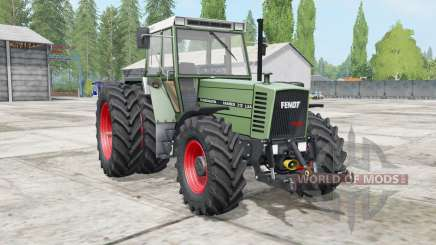 Fendt Farmer 300 LSA Turbomatik wheels selection pour Farming Simulator 2017