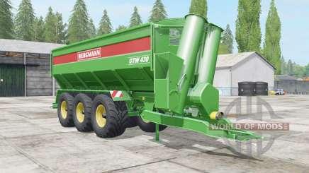 Bergmann GTW 430 all loaded für Farming Simulator 2017