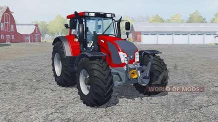 Valtra N163 rosso corsa für Farming Simulator 2013