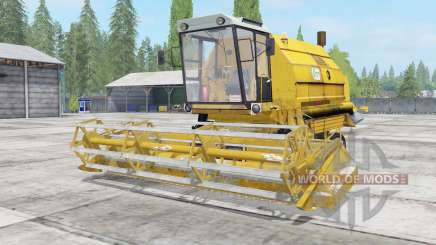 Bizon Gigant Z083 minion yellow pour Farming Simulator 2017