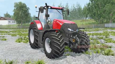 Case IH Optum 300 CVX light brilliant red für Farming Simulator 2015