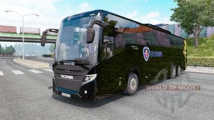 Scania Touring K410 black für Euro Truck Simulator 2
