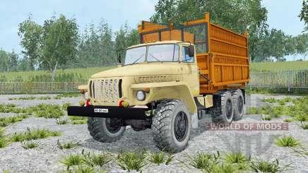 Oural-5557 souple de couleur jaune pour Farming Simulator 2015