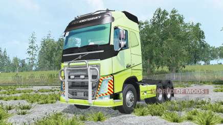 Volvo FH16 600 Globetrotter 2014 pour Farming Simulator 2015
