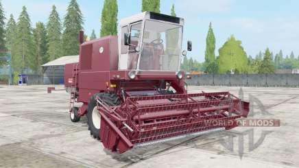 Bizon Super Z056 redwood pour Farming Simulator 2017