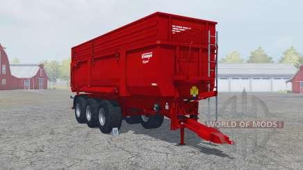 Krampe Big Body 900 S guardsman red pour Farming Simulator 2013