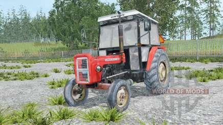 Ursus C-360 coral red für Farming Simulator 2015