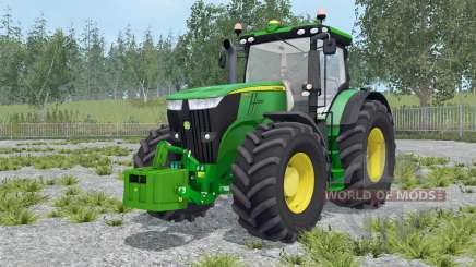 John Deere 7270R with weights für Farming Simulator 2015