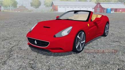 Ferrari California 2010 4WD pour Farming Simulator 2013