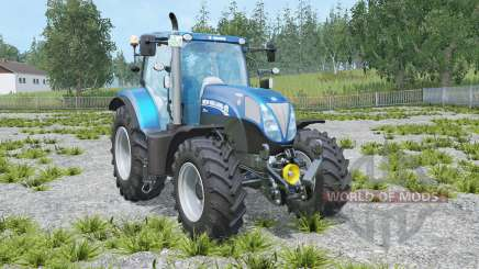New Holland T7 Blue Power pour Farming Simulator 2015