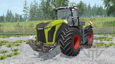 Claas Xerion 5000 Trac VC change wheels pour Farming Simulator 2015