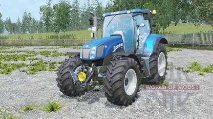 New Holland T6.175 Blue Power für Farming Simulator 2015