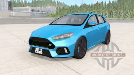 Ford Focus RS (DYB) 2016 für BeamNG Drive