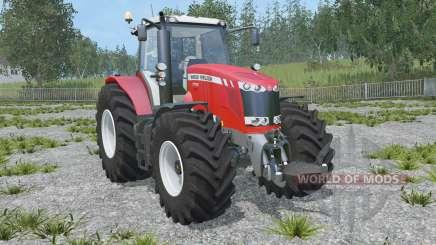 Massey Ferguson 7726 Dyna-VT pour Farming Simulator 2015