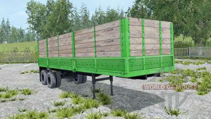 Odaz-9370 couleur malachite pour Farming Simulator 2015