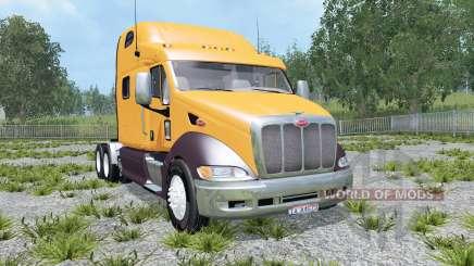 Peterbilt 387 dirty für Farming Simulator 2015