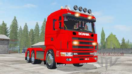 Scania R124L 440 6x4 pour Farming Simulator 2017