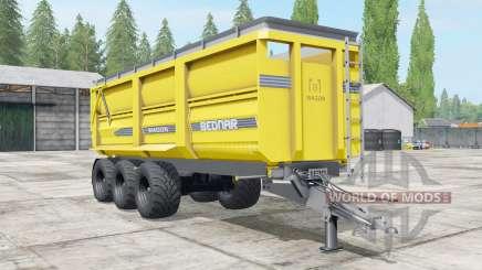 Bednar Wagon WƓ 27000 pour Farming Simulator 2017