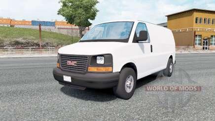 GMC Savana Van 2002 pour Euro Truck Simulator 2