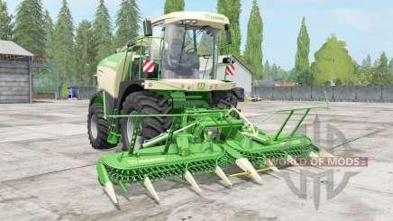 Krone BiG X choice color für Farming Simulator 2017