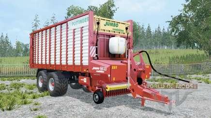 Pottinger Jumbo 6010 Combiline _ pour Farming Simulator 2015