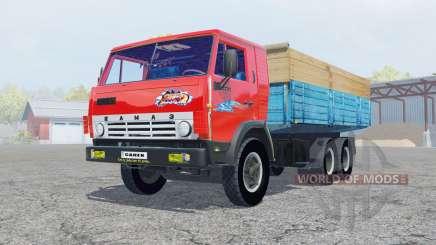 KamAZ-53212 leuchtend rote Farbe für Farming Simulator 2013